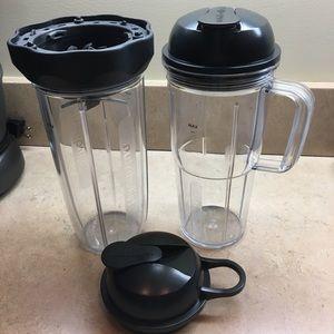 Nutribullet Blender Cups 5-pc